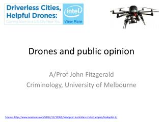 Drones and public opinion