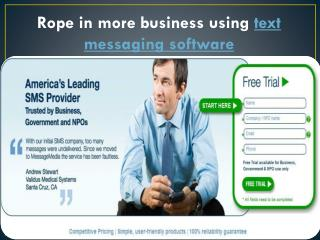 Send SMS from Email Using Text Messaging Software