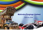 Mahindra Forgings Limited