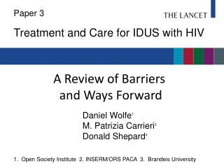 A Review of Barriers  and Ways Forward
