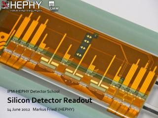 Silicon  Detector Readout