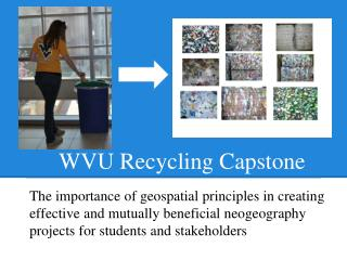 WVU Recycling Capstone