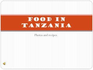 Food in tanzania
