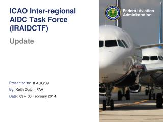ICAO Inter-regional AIDC Task Force (IRAIDCTF)