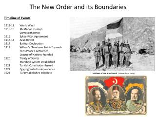 The New Order and its Boundaries