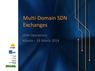 Multi-Domain  SDN  Exchanges