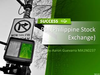 PSE(Philippine Stock Exchange)
