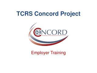TCRS Concord Project