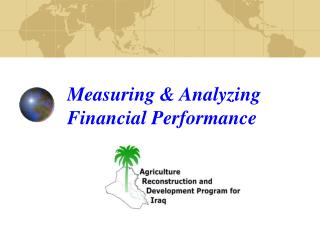 Measuring  Analyzing Financial Performance