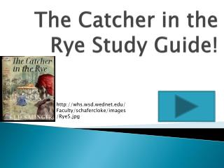The Catcher in the Rye Study Guide!