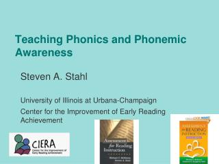 Teaching Phonics and Phonemic Awareness