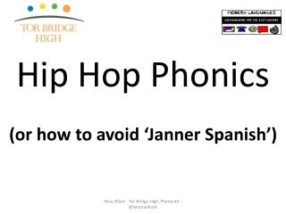 Hip Hop Phonics