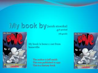 My book by