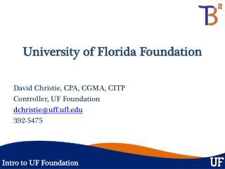University of Florida Foundation