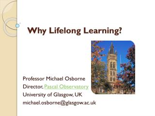 Why Lifelong Learning?