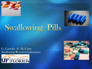 Swallowing  Pills