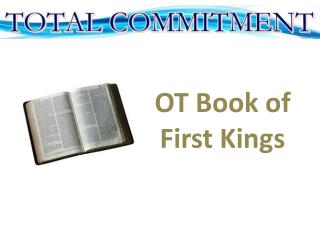 OT Book of First Kings