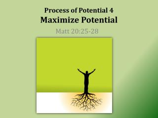 Process of Potential 4 Maximize Potential