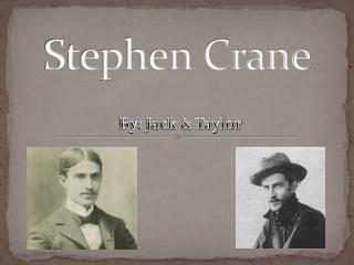 stephen crane research paper
