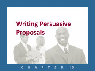 Writing Persuasive Proposals
