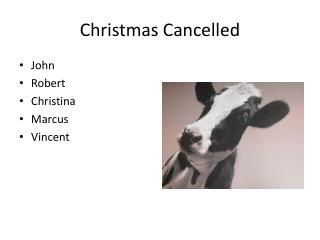 Christmas Cancelled