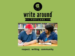 respect.  writing.  community.