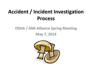 Accident / Incident Investigation Process