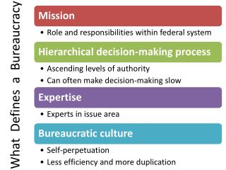 What   Defines  a  Bureaucracy