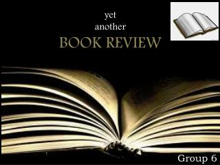 yet  another BOOK REVIEW