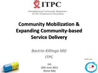 Community Mobilization & Expanding Community-based  Service Delivery