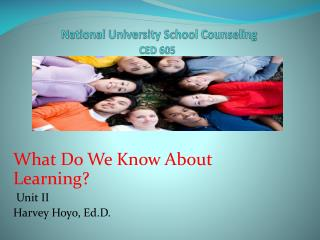National University School Counseling CED 605