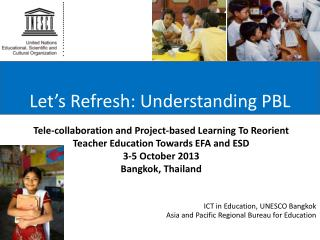 Let's Refresh: Understanding PBL