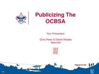 Publicizing The OCBSA