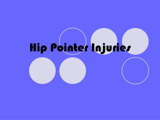 Hip Pointer Injuries