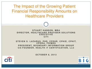 The Impact of the Growing Patient Financial Responsibility Amounts on Healthcare Providers
