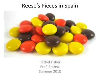 Reese's Pieces in Spain