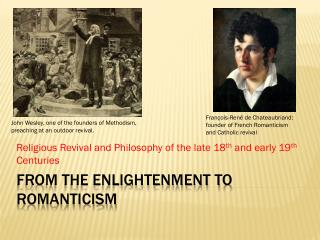 From the Enlightenment to Romanticism