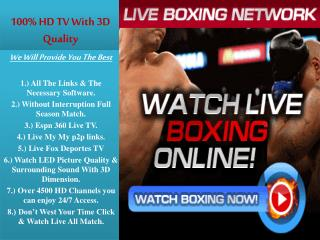 Fury vs Pajkic Live Extream PPV Odd Boxing Pay Par View @ En