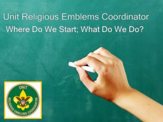Unit Religious Emblems Coordinator