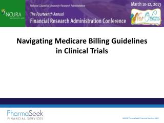 Navigating Medicare Billing Guidelines in Clinical Trials