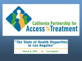 Health Disparities,  in Los Angeles, the state of California, & the US