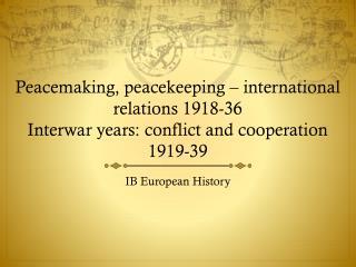 IB European History