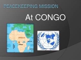 Peacekeeping mission