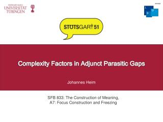 Complexity Factors in Adjunct Parasitic Gaps