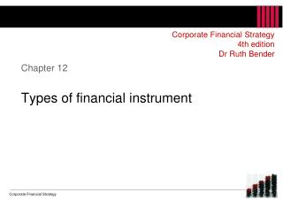 Chapter 12 Types of financial instrument