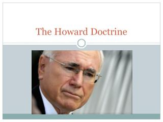 The Howard Doctrine