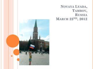 Novaya Lyada , Tambov , Russia March 22 nd , 2012