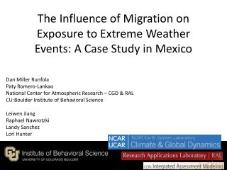 The Influence of Migration on Exposure to Extreme Weather Events: A Case Study in Mexico