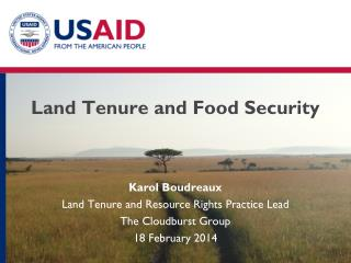 Land Tenure and Food Security