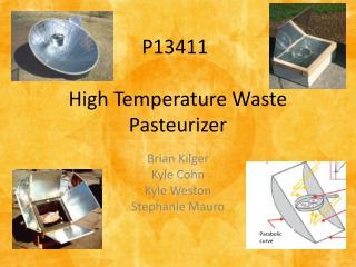 High Temperature Waste Pasteurizer